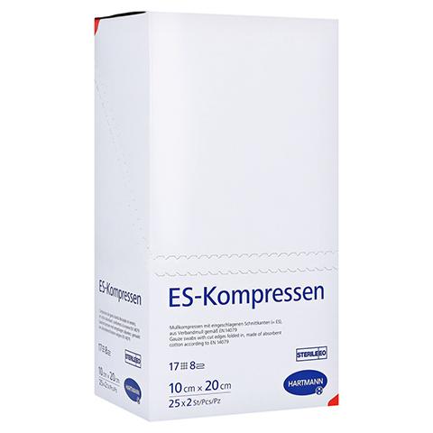 ES-KOMPRESSEN steril 10x20 cm 8fach 25x2 St�ck