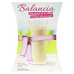 BALANCIA Vitalmahlzeit Pulver zum Abnehmen 500 Gramm - Vorderseite