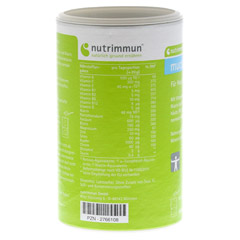 MUCOZINK Pulver 300 Gramm - R�ckseite