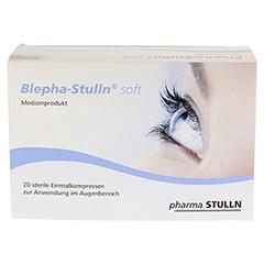 BLEPHA-STULLN soft Einmal-Augenkompressen steril 20 Stück - Vorderseite