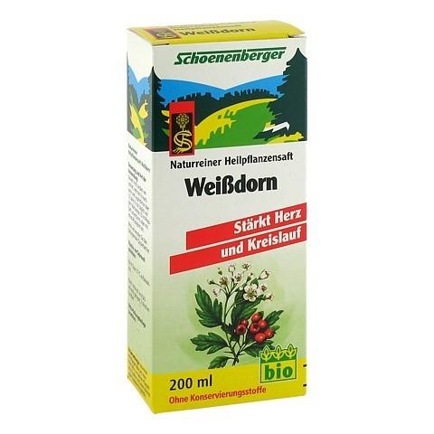 Weißdorn-Crataegus-Pflanzensaft 200 Milliliter