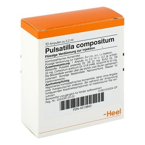 PULSATILLA COMPOSITUM Ampullen 10 St�ck