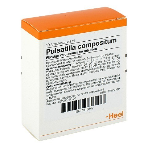 PULSATILLA COMPOSITUM Ampullen 10 Stück