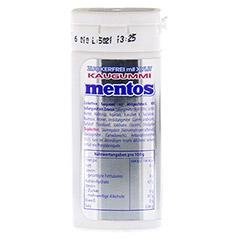 MENTOS Gum White Mint Pocket 20 Stück - Rückseite