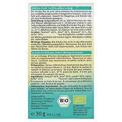 HOLLE Bio Kinder Tee 30 Gramm - Rechte Seite