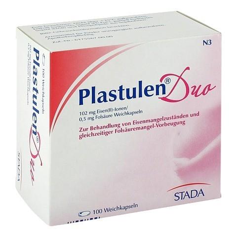 Plastulen Duo Eisen/Folsäure 100 Stück N3