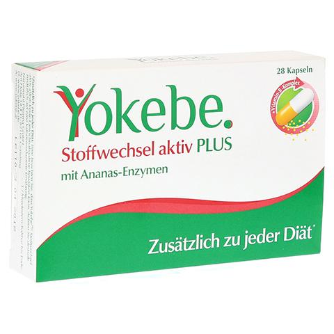 YOKEBE Plus Stoffwechsel aktiv Kapseln 28 Stück