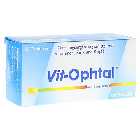 VIT OPHTAL mit 10 mg Lutein Tabletten 90 Stück