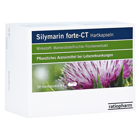Silymarin forte-CT 30 Stück N1