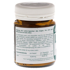 LUTEIN 20 mg Kapseln 90 St�ck - R�ckseite