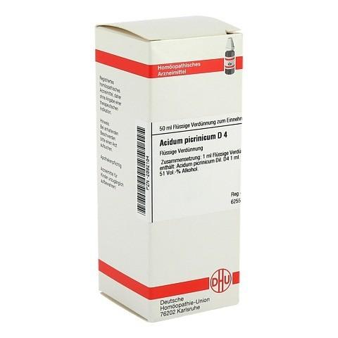 ACIDUM PICRINICUM D 4 Dilution 50 Milliliter N1