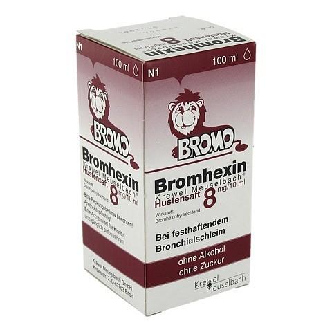 Bromhexin Krewel Meuselbach Hustensaft 8mg/10ml 100 Milliliter N1