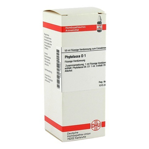 PHYTOLACCA D 1 Dilution 50 Milliliter N1