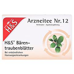 H&S Bärentraubenblätter 20 Stück N1 - Vorderseite