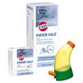 Emser Salz im Beutel 1,475g und Nasendusche Junior 1 Packung N1