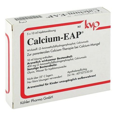 CALCIUM EAP Ampullen 5x10 Milliliter N1