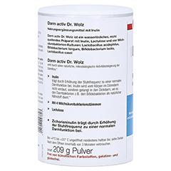 DARM ACTIV Dr.Wolz Pulver 209 Gramm - Linke Seite