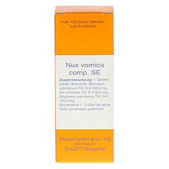 NUX VOMICA COMP.SE Tabletten 100 St�ck N1 - Vorderseite
