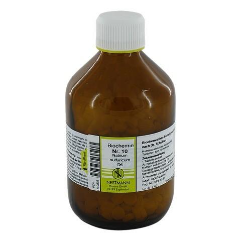 BIOCHEMIE 10 Natrium sulfuricum D 6 Tabletten 1000 Stück