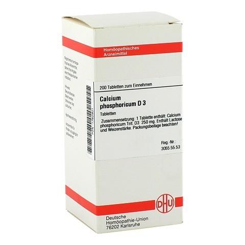 CALCIUM PHOSPHORICUM D 3 Tabletten 200 St�ck N2