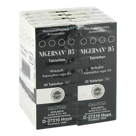 NIGERSAN D 5 Tabletten 10x20 St�ck N2