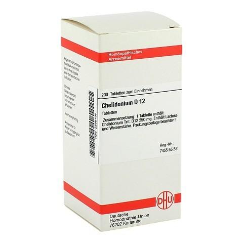 CHELIDONIUM D 12 Tabletten 200 Stück N2