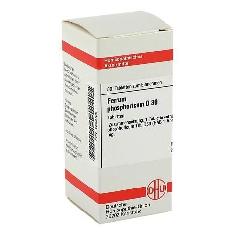 FERRUM PHOSPHORICUM D 30 Tabletten 80 Stück