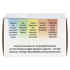 CENTRUM Gen.50+ A-Zink+FloraGlo Lutein Caplette 30 Stück - Oberseite
