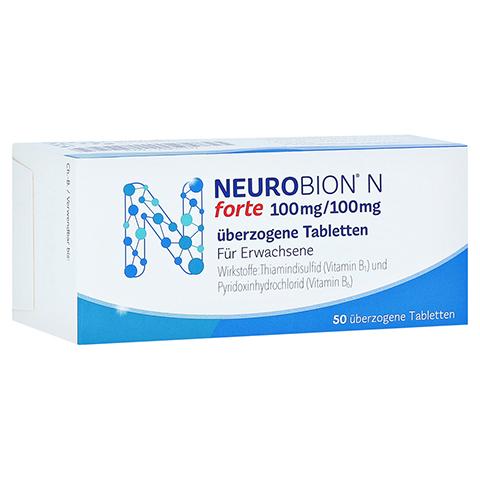 NEUROBION N forte �berzogene Tabletten 50 St�ck