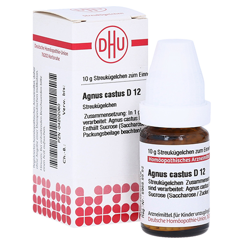 AGNUS CASTUS D 12 Globuli 10 Gramm N1