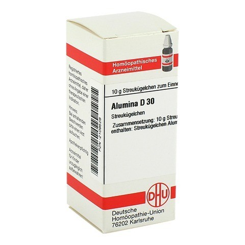 ALUMINA D 30 Globuli 10 Gramm N1