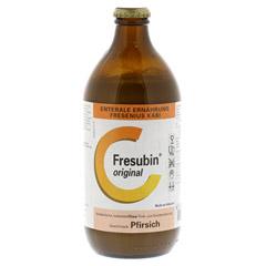 FRESUBIN ORIGINAL Pfirsich 12x500 Milliliter - Vorderseite