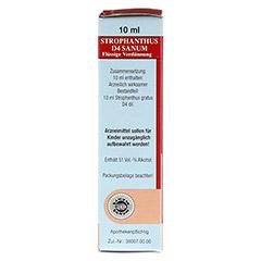 STROPHANTHUS D 4 Sanum Tropfen 10 Milliliter N1 - Rechte Seite