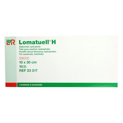 LOMATUELL H Salbent�ll 10x30 cm steril 10 St�ck