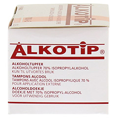 ALKO TIP Alkoholtupfer 100 Stück - Rechte Seite