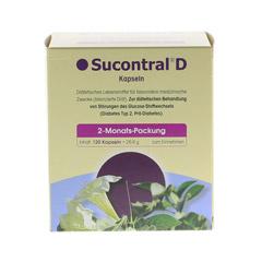 SUCONTRAL D Diabetiker Kapseln 120 St�ck - Vorderseite