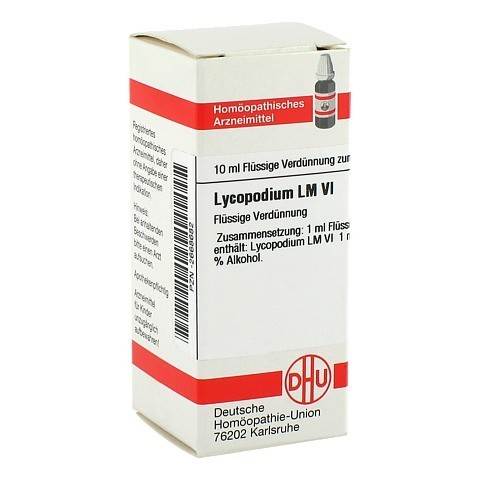 LM LYCOPODIUM VI Dilution 10 Milliliter N1
