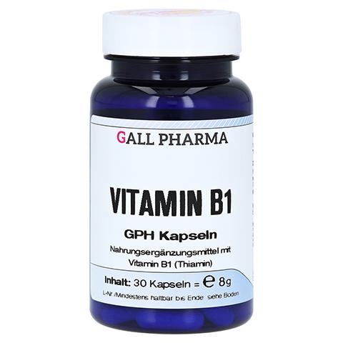 VITAMIN B1 GPH 1,4 mg Kapseln 30 Stück