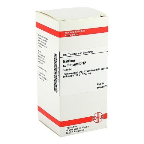NATRIUM SULFURICUM D 12 Tabletten 200 Stück N2