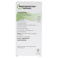 PASCOLEUCYN Injektopas Ampullen 10 Stück N1 - Rückseite