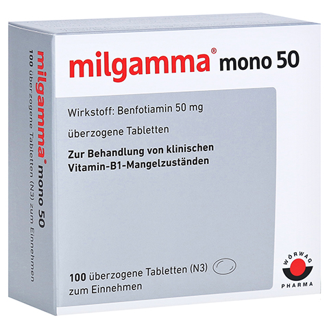 MILGAMMA mono 50 überzogene Tabletten 100 Stück N3