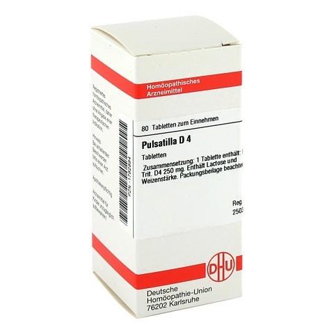 PULSATILLA D 4 Tabletten 80 Stück N1