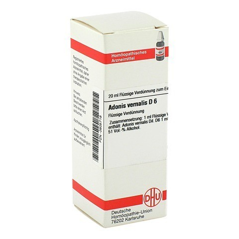 ADONIS VERNALIS D 6 Dilution 20 Milliliter N1