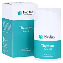 MEDITAO Thymiancreme mild 50 Milliliter