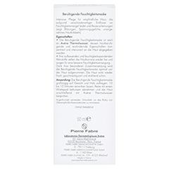 AVENE beruhigende Feuchtigkeitsmaske 50 Milliliter - Rückseite