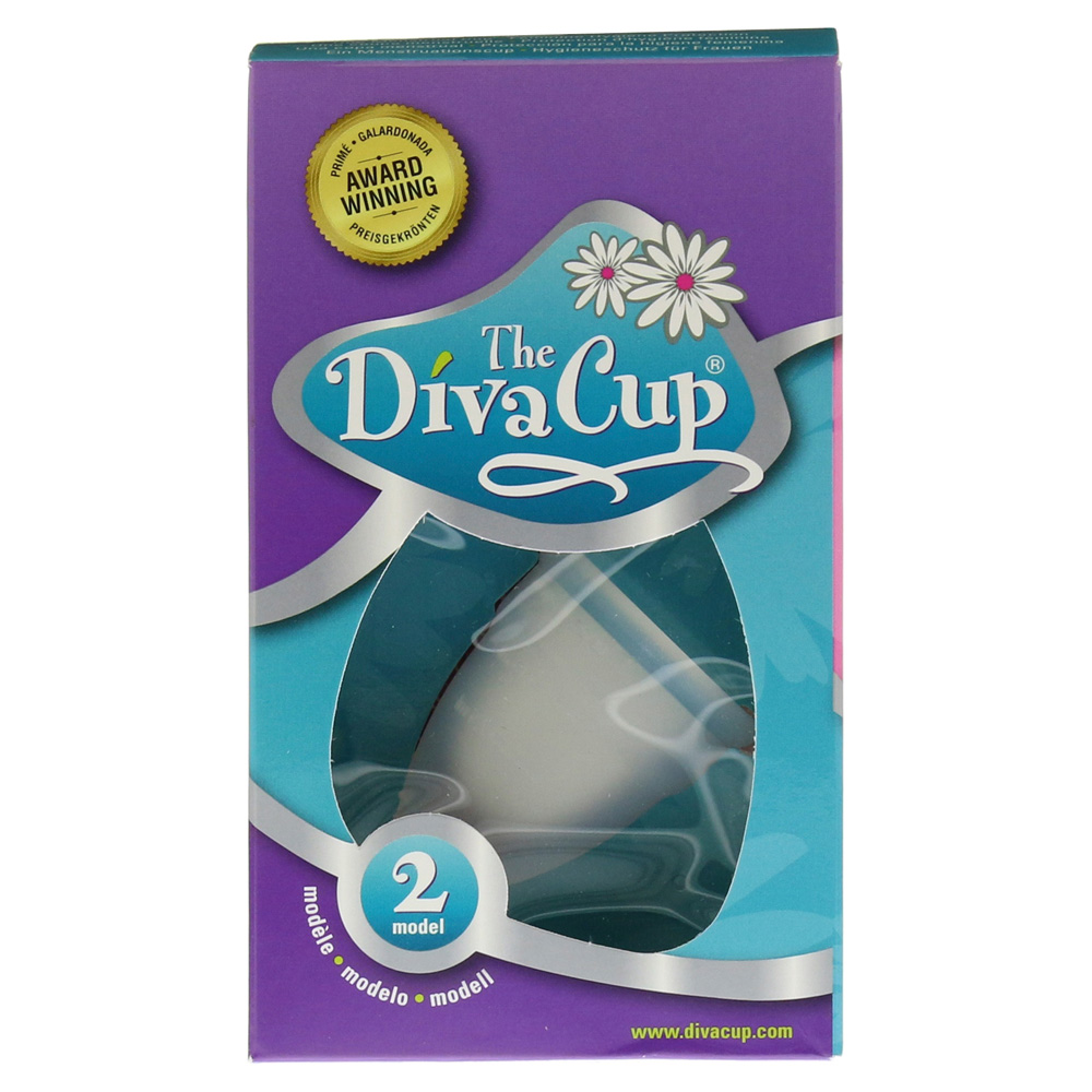 Diva cup menstruations kappe gr 2 1 st ck online bestellen - Diva cup 2 ...