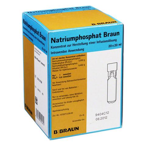 NATRIUMPHOSPHAT Braun MPC Infusionslsg.-Konzentrat 20x20 Milliliter N3