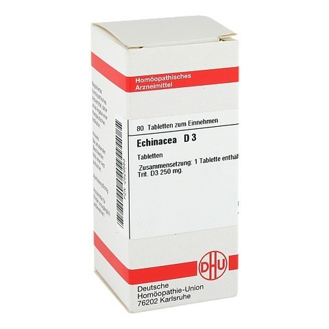 ECHINACEA HAB D 3 Tabletten 80 St�ck N1