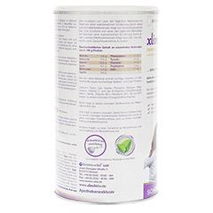 XLIM Aktiv Mahlzeit Schoko Pulver 500 Gramm - Rückseite