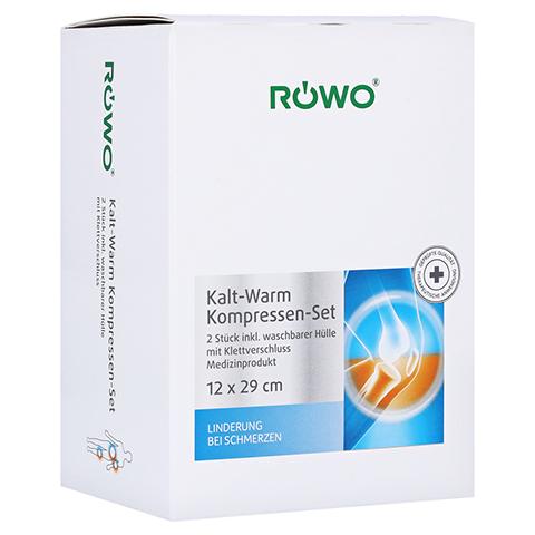 RÖWO Kalt-Warm-Kompresse m.Klettbandage 2 St. 2 Stück